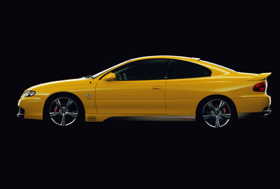 HSV GTO Coupe Series 3 Press Release
