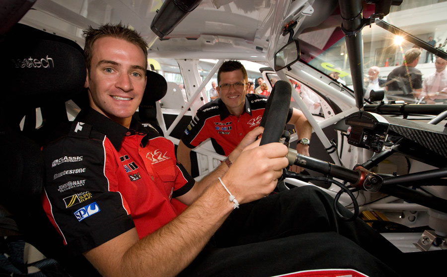 Garth Tander and Will Davison will be taking calls in Ch 9