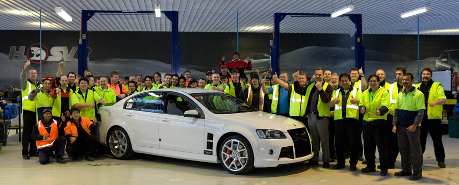 The last HSV w427 to roll off the HSV production line.