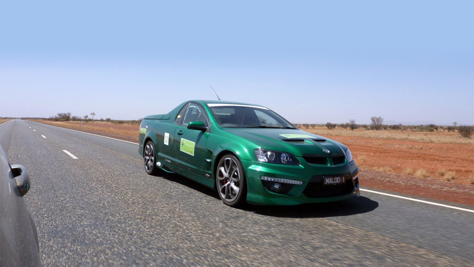 V8 power wins 2009 Global Green Challenge