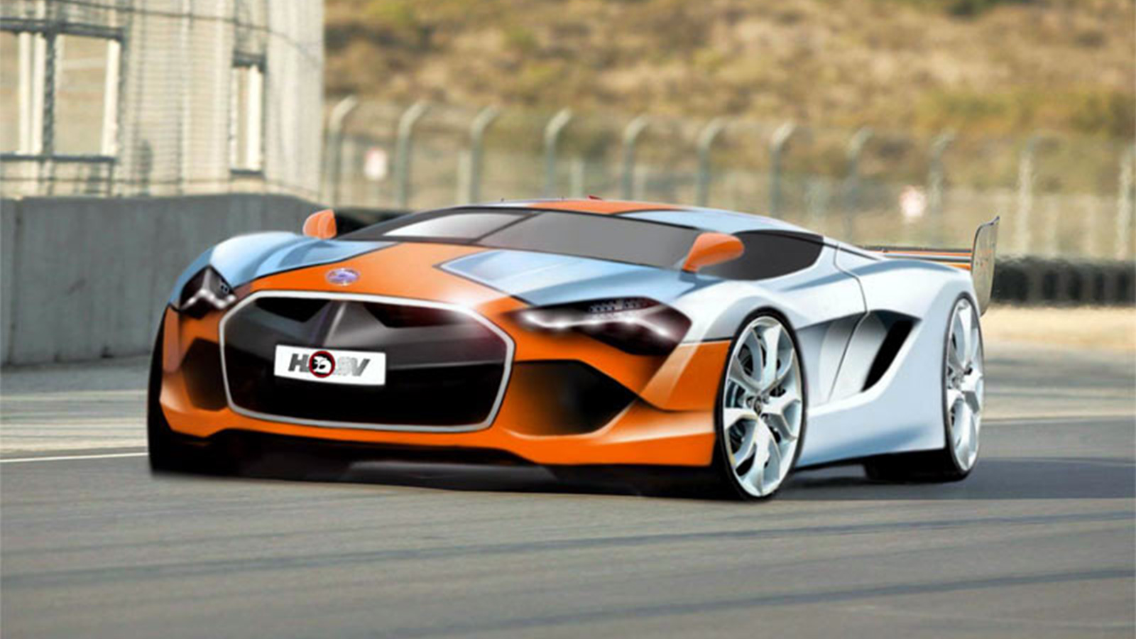 A prototype 2015 Holden Special Vehicles Hybrid, produced by Julian Quincey using Autodesk Alias Design Studio software.