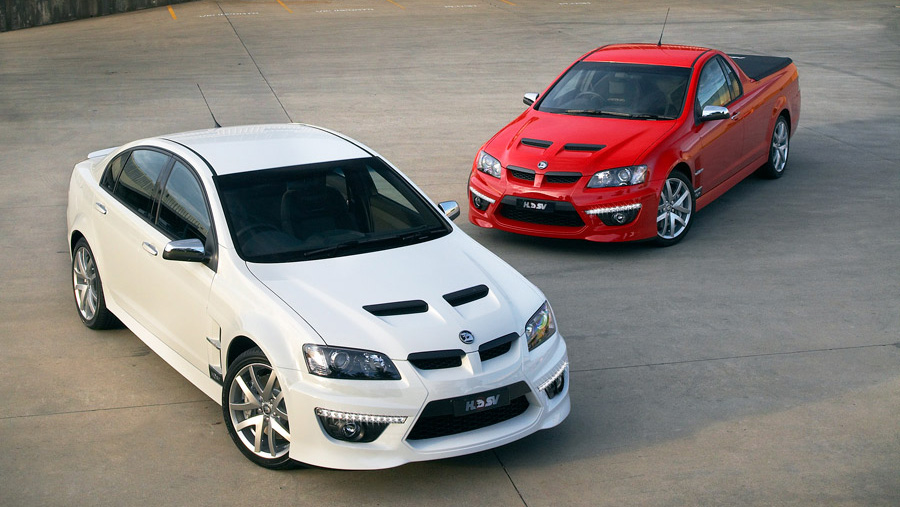 Holden Special Vehicles ClubSport GXP and Maloo GXP debut
