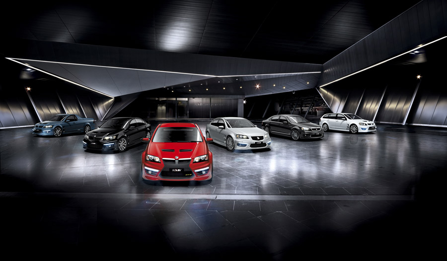 Holden Special Vehicles E2 range