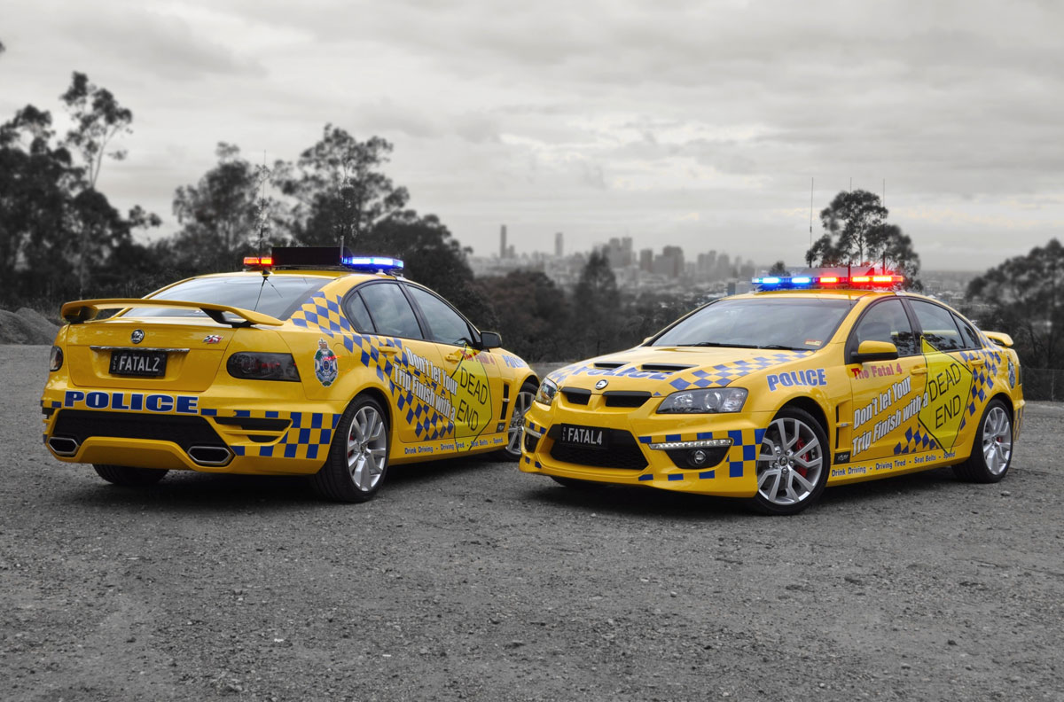 HSV Supports Queensland Police Road Safety