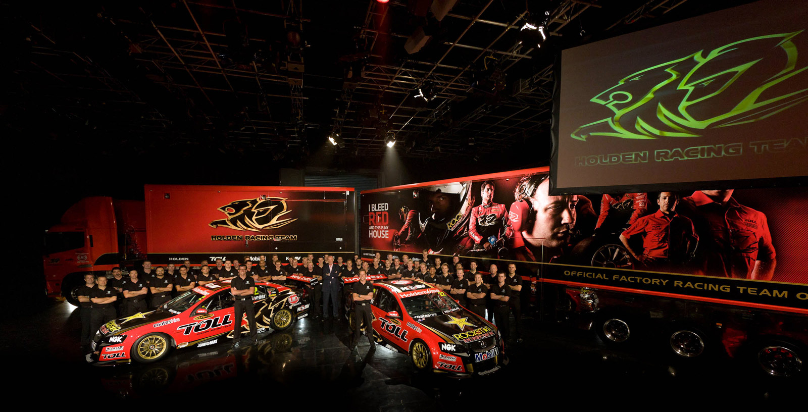 """I Bleed Red and This is My House"" - Holden Racing Team launches 2012 marketing campaign"