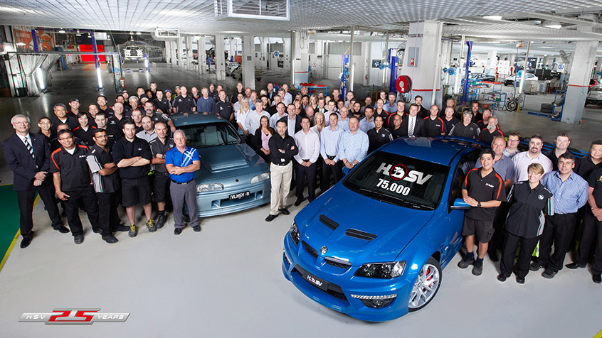 HSV Celebrates the Build of its 75,000th Vehicle