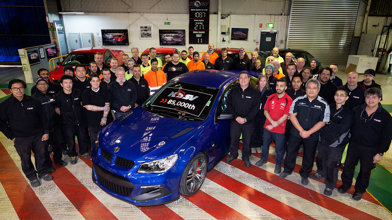 HSV Celebrates Build of its 85,000th Vehicle