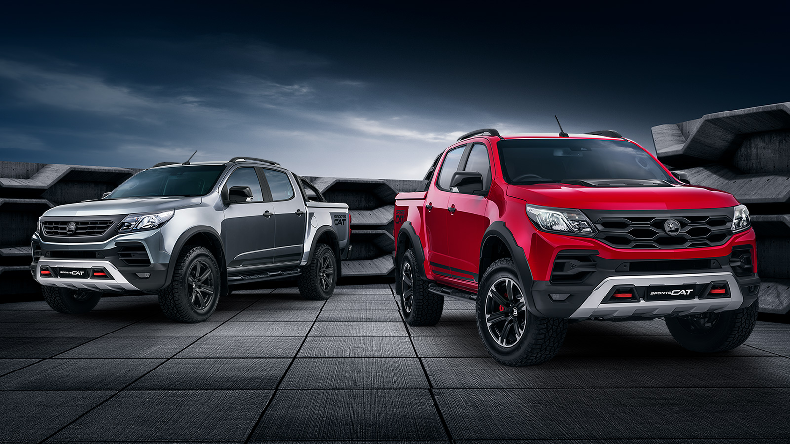 GM Holden and HSV Launch New Colorado SportsCat