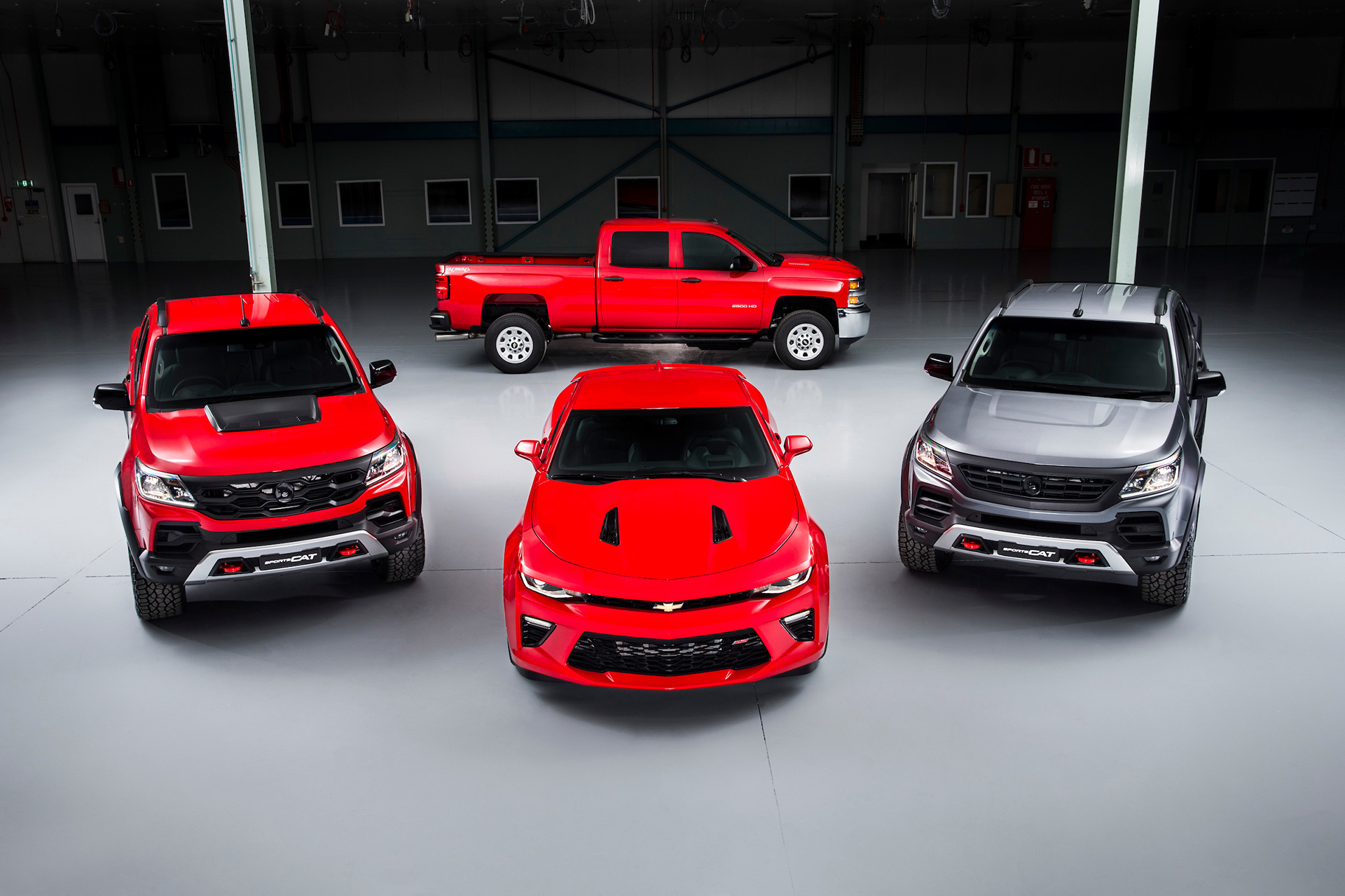 Camaro, Colorado SportsCat and Silverado set to Storm Australia.