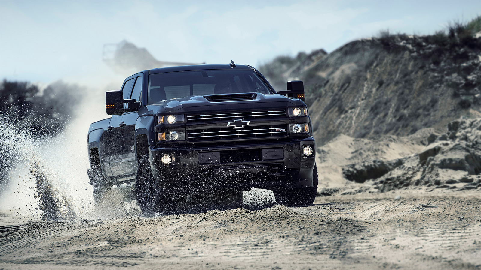 Power, payload and towing capability are what Silverado is famous for.