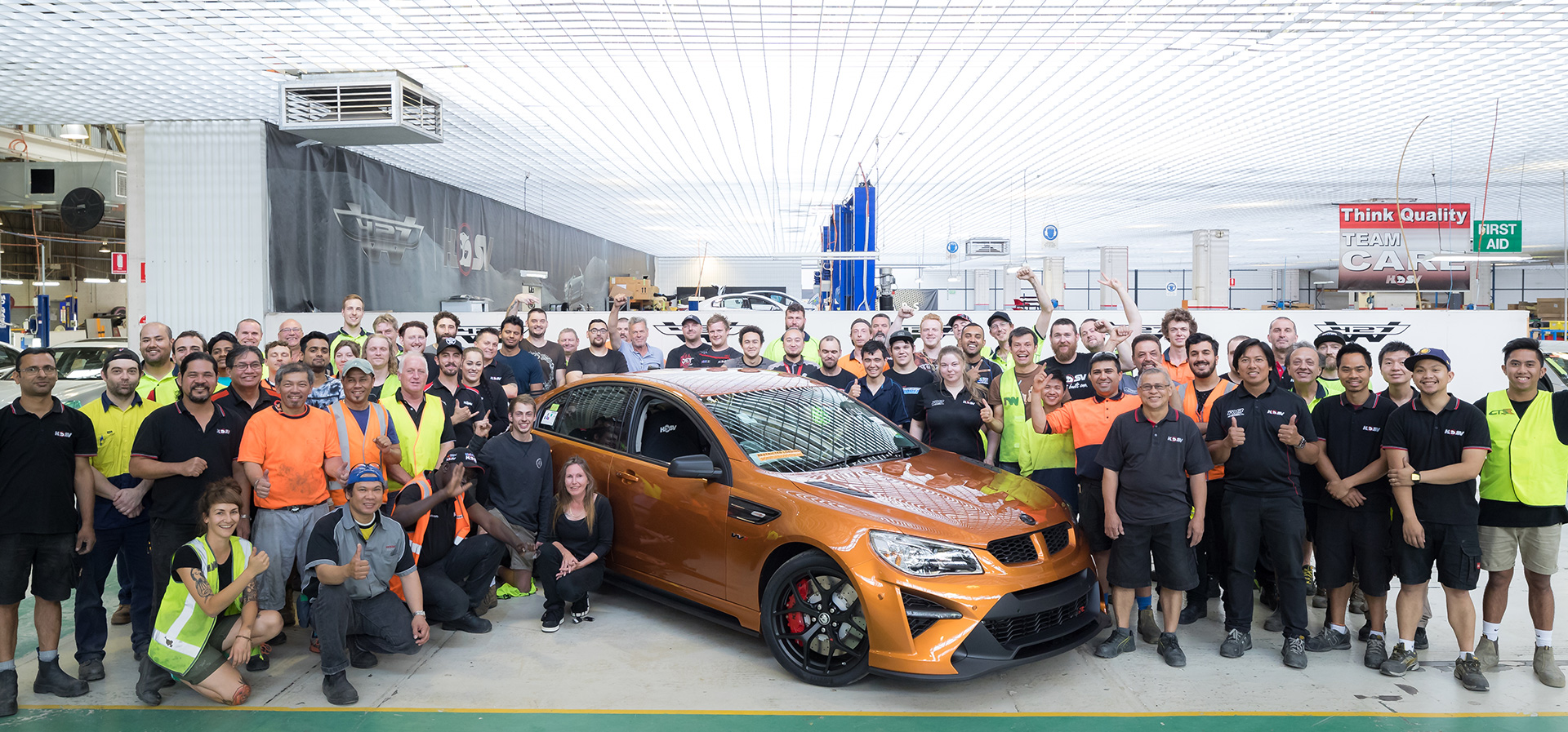 Official company records note that to the end of 2017, HSV has built 90,114 vehicles.