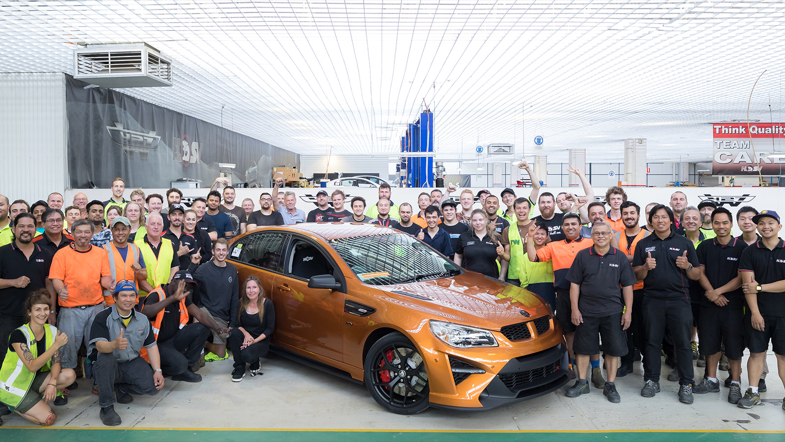 HSV Builds Final Commodore-Based Model