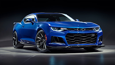 Chevrolet Camaro ZL1 Powers into HSV Range