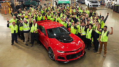 HSV Celebrates Build of its 1,000th Chevrolet Camaro
