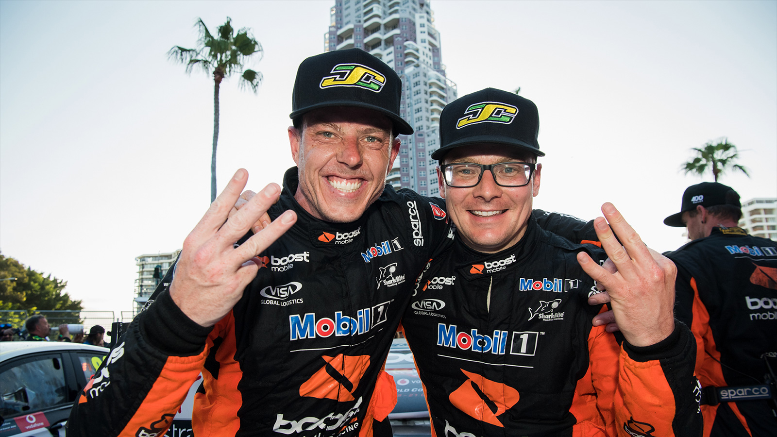 Podium Caps Off 400th Celebrations
