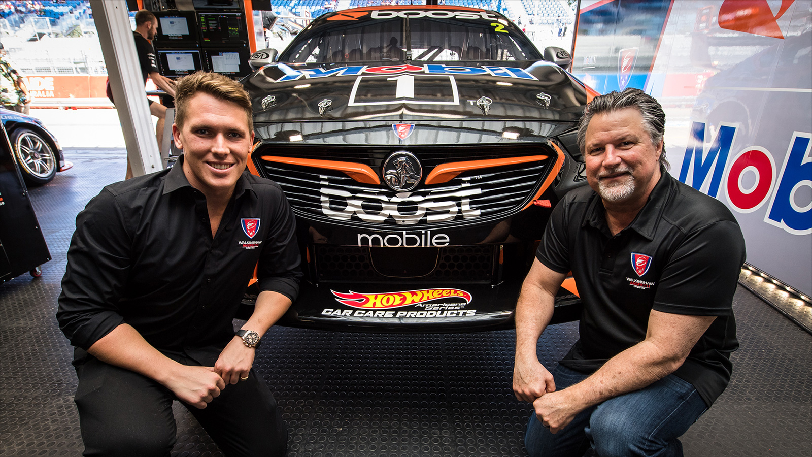 Ryan Walkinshaw and Michael Andretti were on-hand in Adelaide for the announcement.