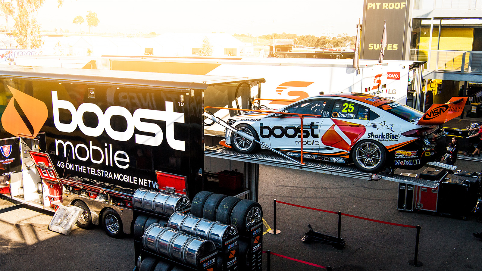 Positive Signs at Test Day