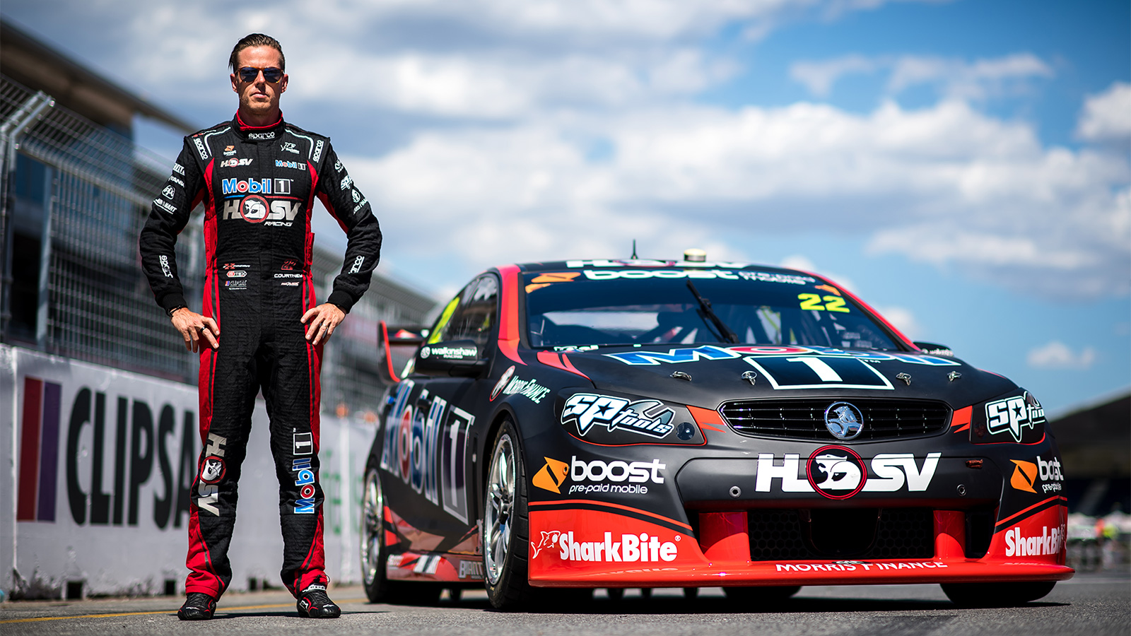 Mobil 1 HSV Racing teams up with Boost Mobile for Clipsal
