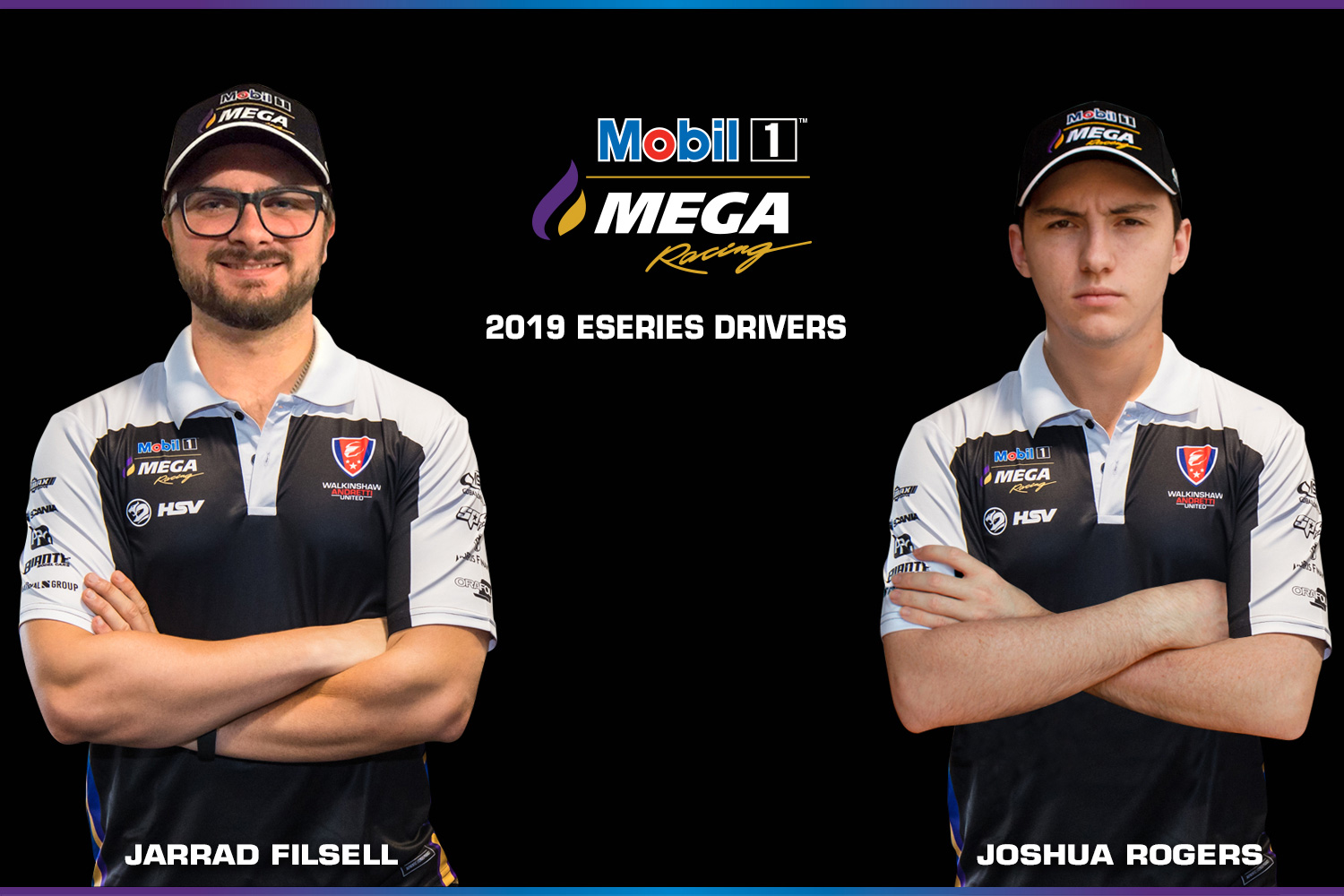 Jarred and Josh are the Team's inaugural Eseries drivers.