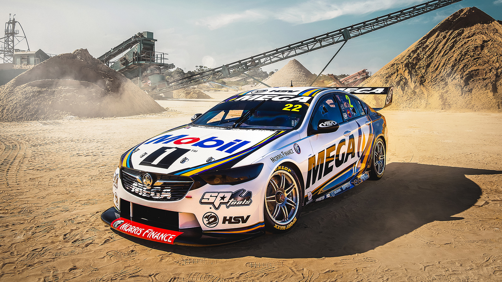 The all-new 2019 livery for Mobil 1 MEGA Racing.