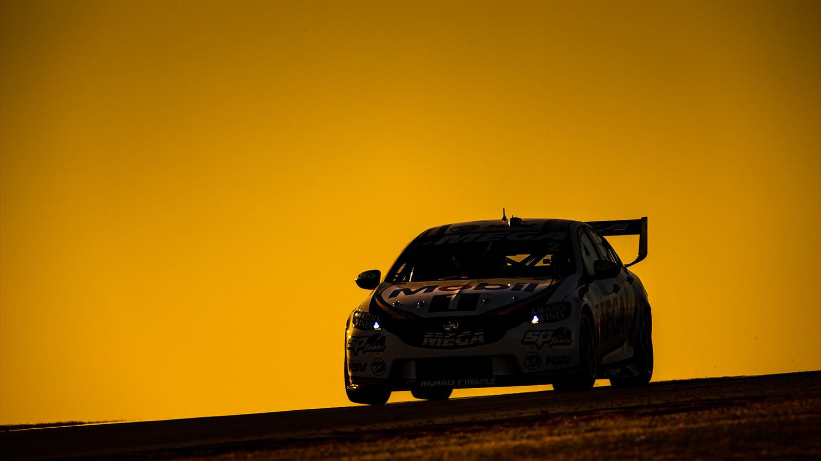 Scott Pye in the setting South Australian Sun.