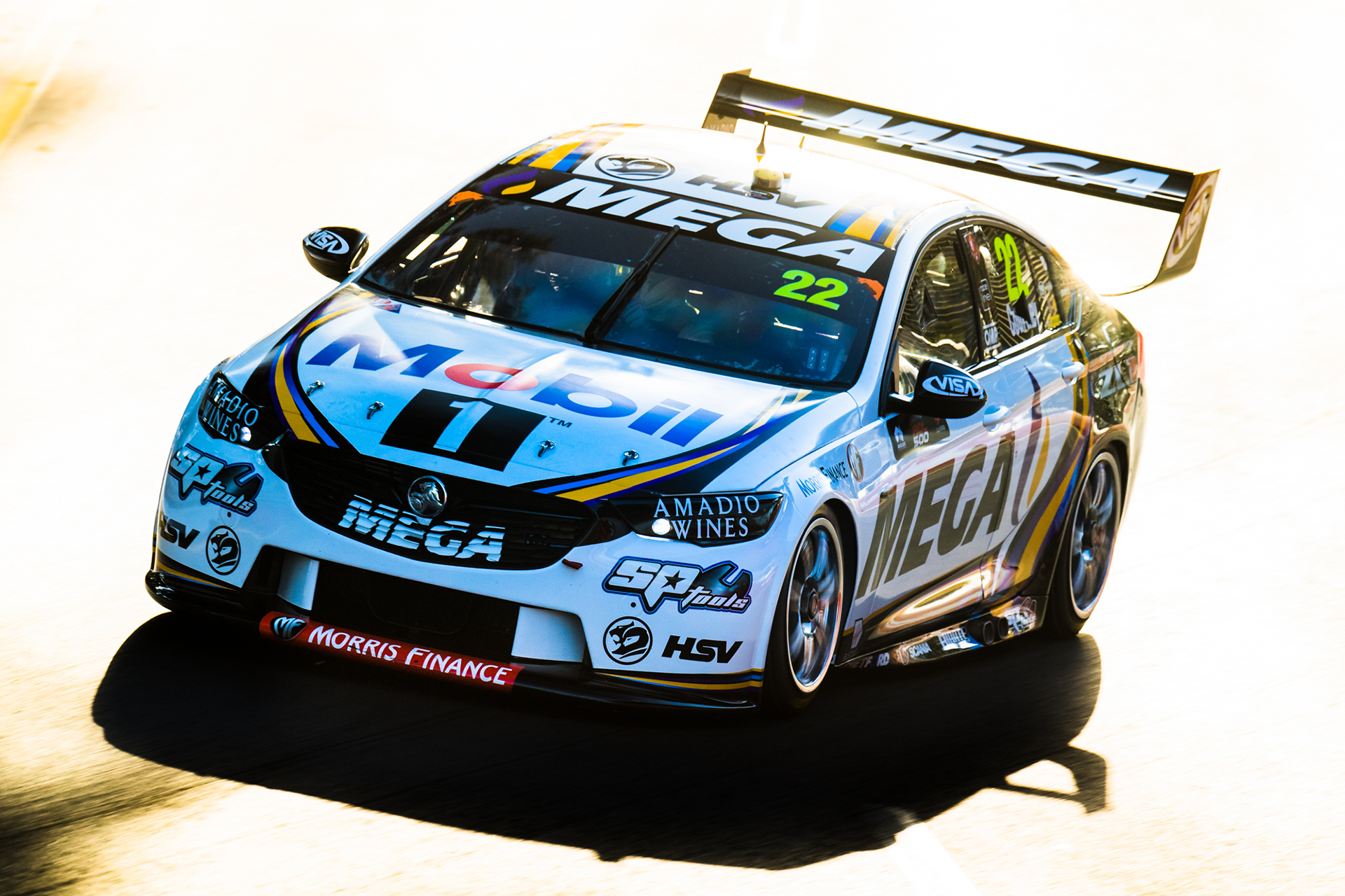 James Courtney in the setting South Australian sun.