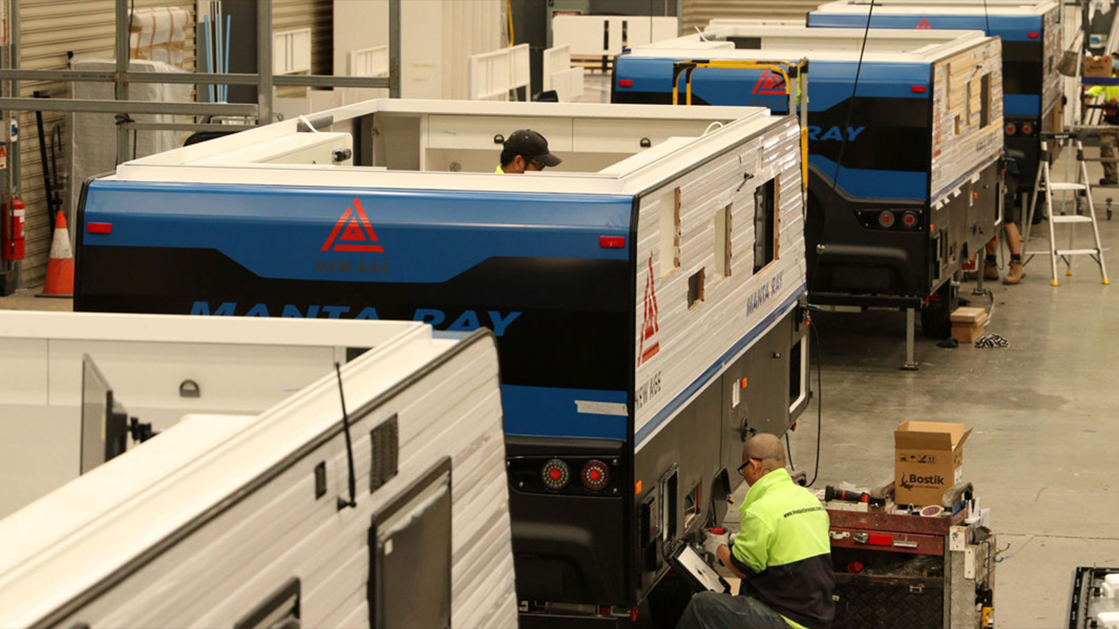 New Age Caravans staff and Dealerships have put into action all necessary protocols to ensure a safety-first approach.