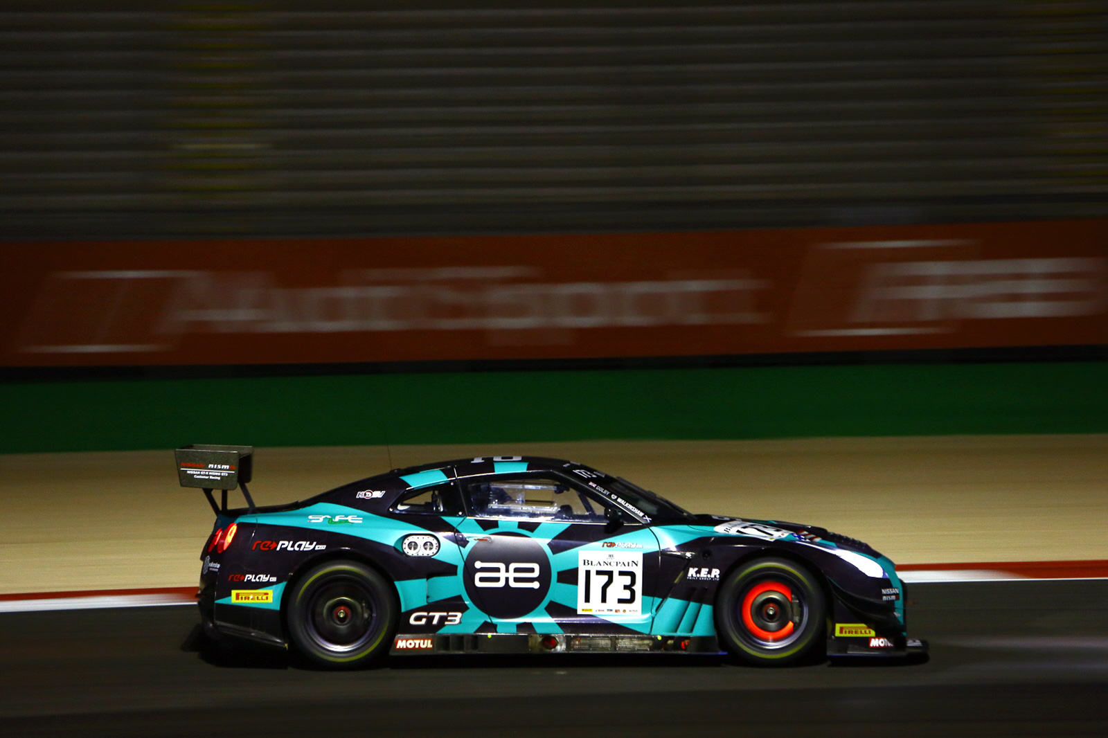 The incredible performance of the No.173 Nissan GT-R NISMO GT3 was clear to see.