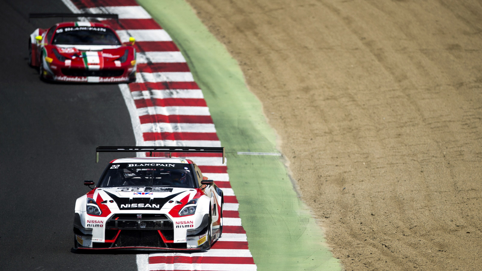 Top Three Silver Cup Finish for Walkinshaw in Blancpain Sprint Cup at Brands Hatch