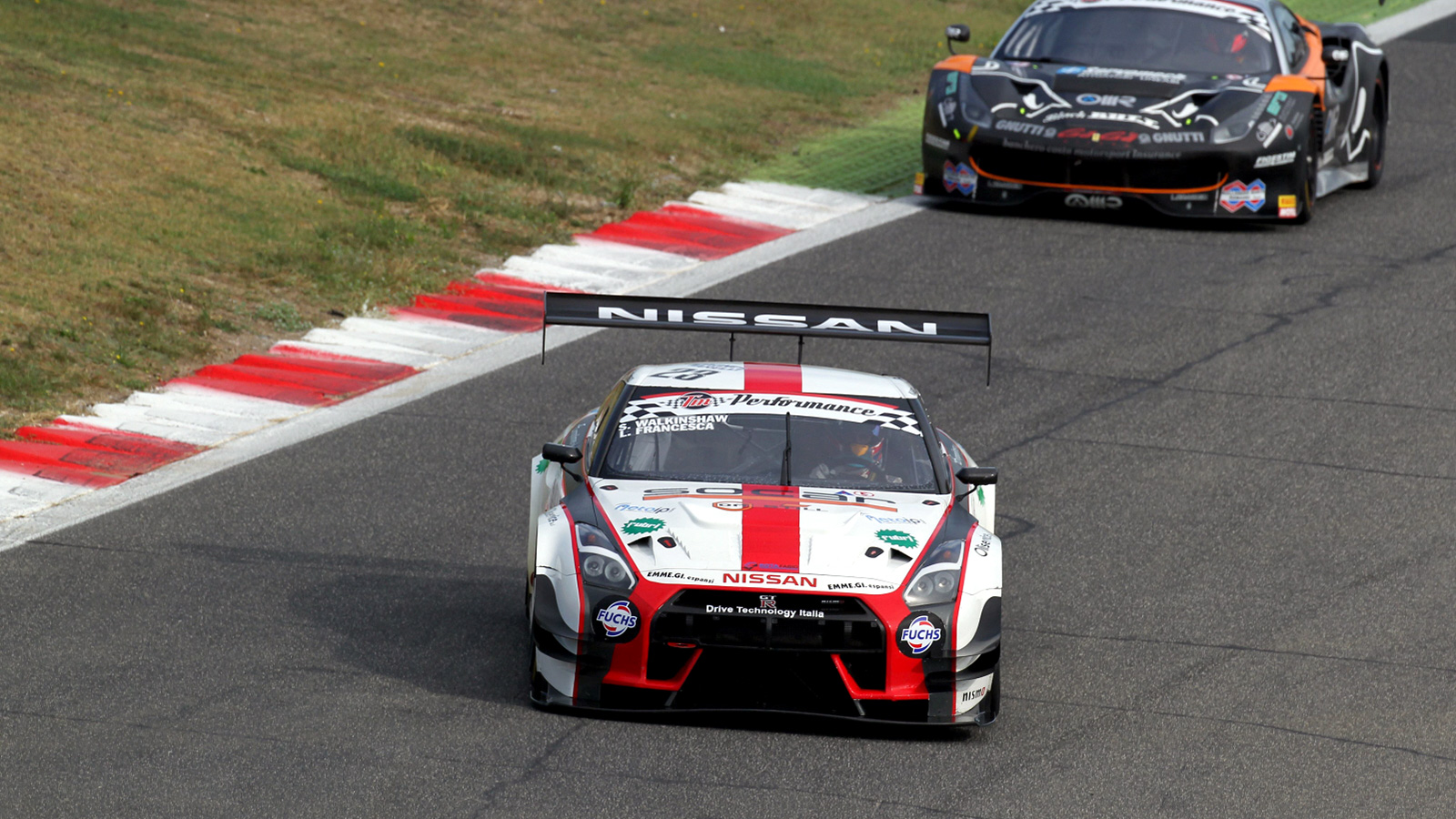 Double Top Eight SGT3 Class Finish for Walkinshaw at Vallelunga