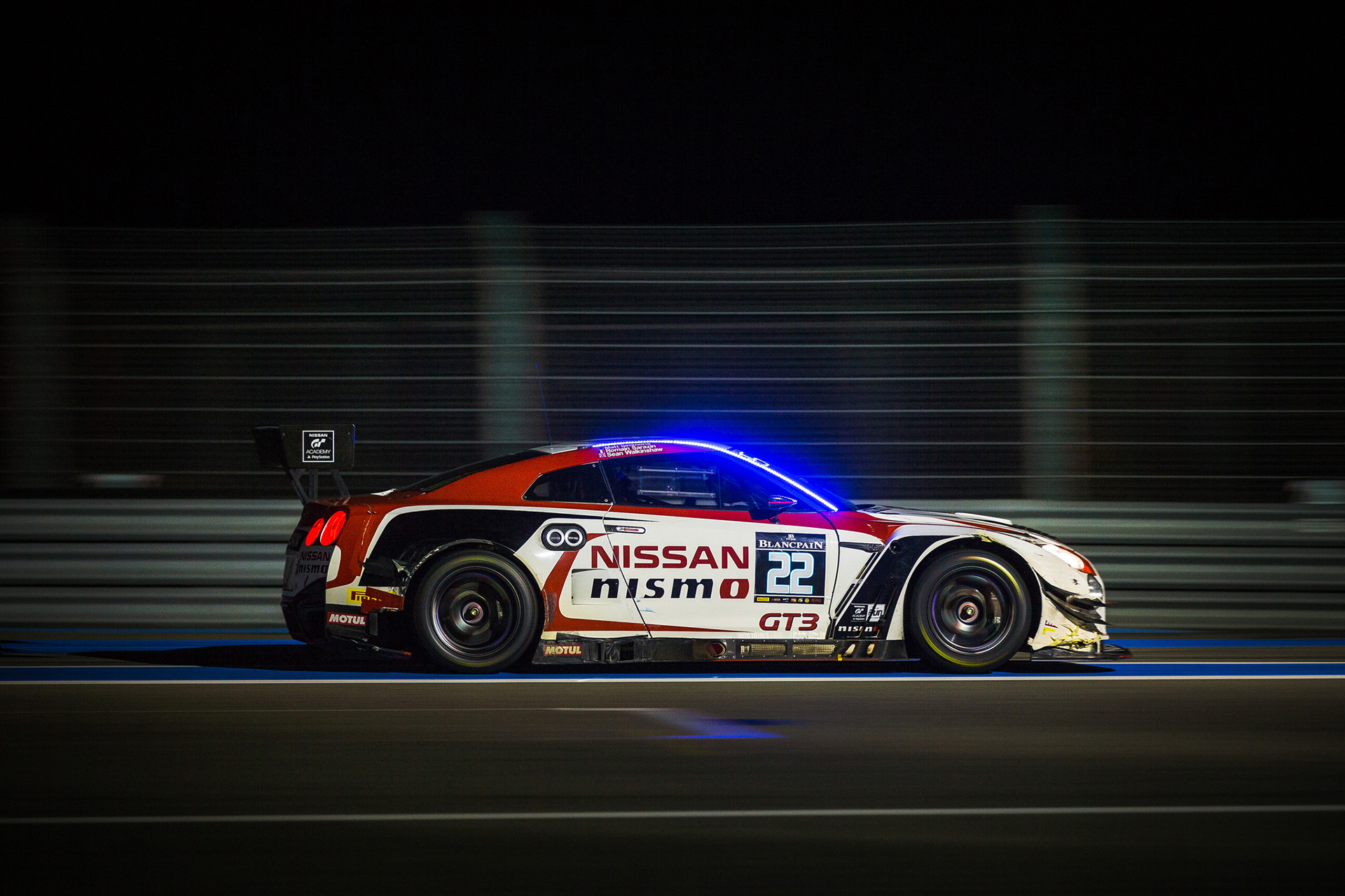 Sean returned to the track to hoist the No.22 Nissan into 14th place in Pro-Am and 37th overall.