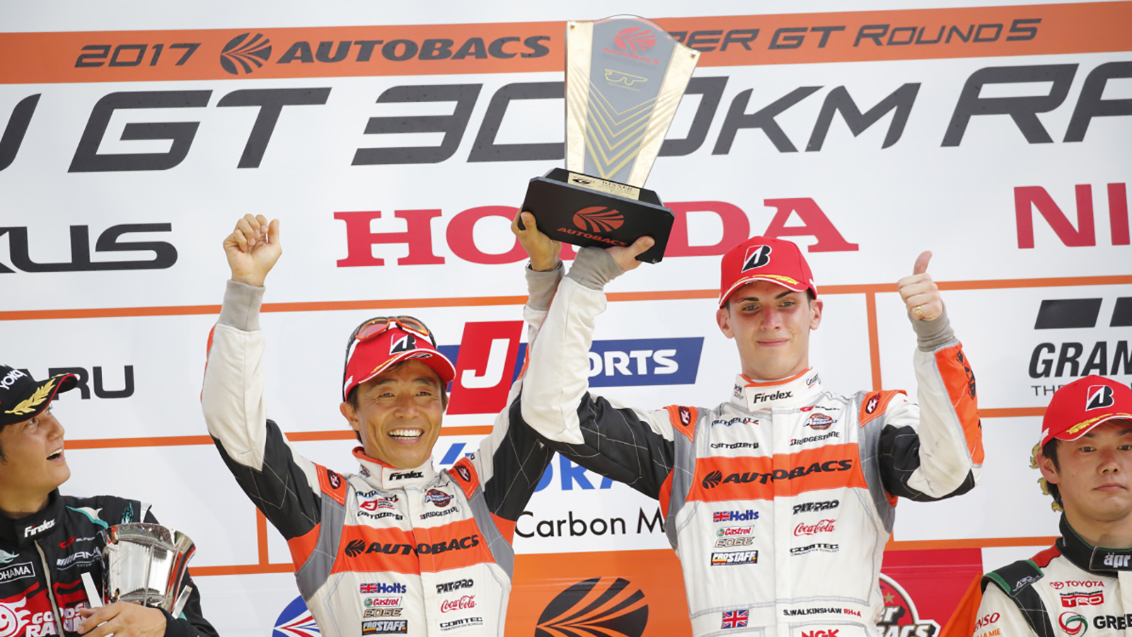 Walkinshaw and Takagi Dominate at Fuji to Secure Sensational Lights-to-Flag GT300 Victory