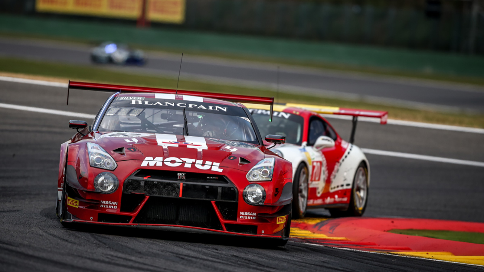 Top Five Silver Cup Result for Walkinshaw and Team RJN in Dramatic Total 24 Hours of Spa