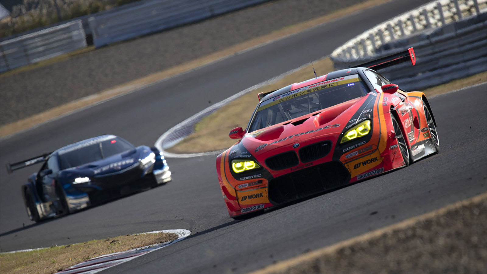 Walkinshaw and Takagi Charge to Superb Top Four Finish at Autopolis to Extend GT300 Super GT Championship Lead