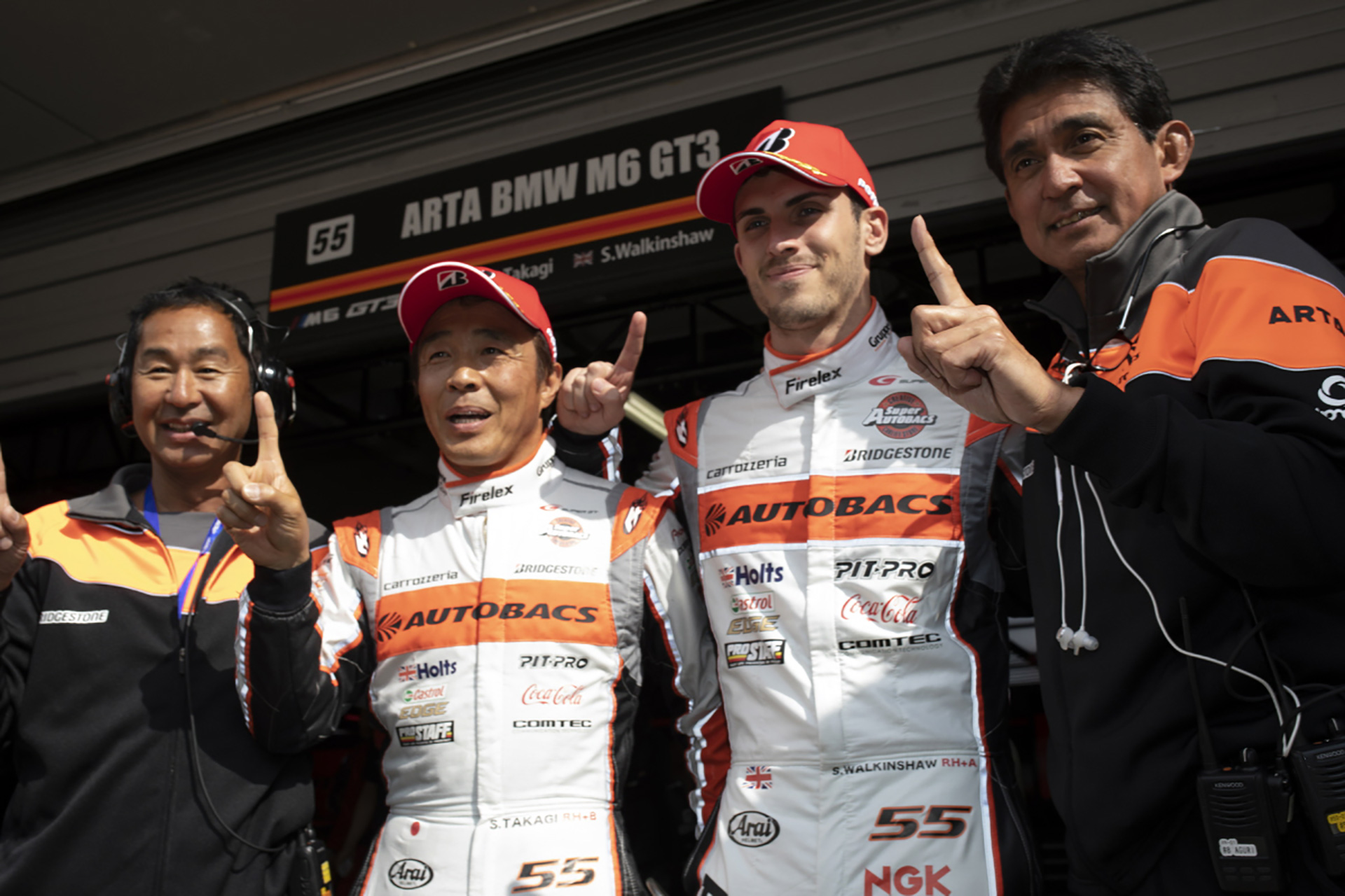 GT300 leaders Walkinshaw ' Takagi eye consolidation in Rd3.