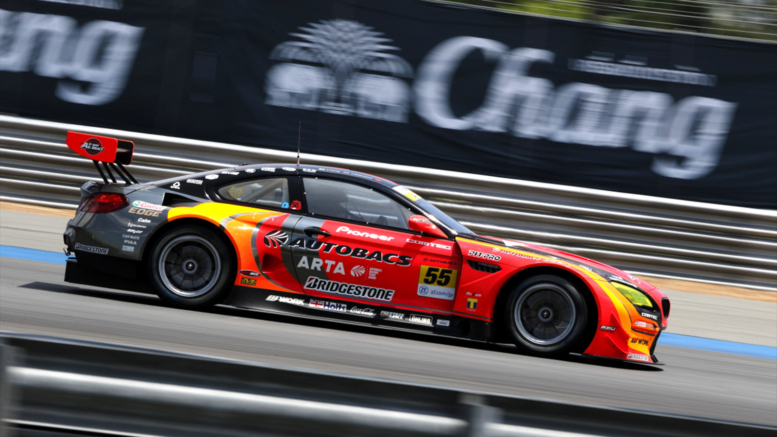 Late Puncture in Thailand Costs Walkinshaw and Takagi Certain GT300 Podium in Super GT