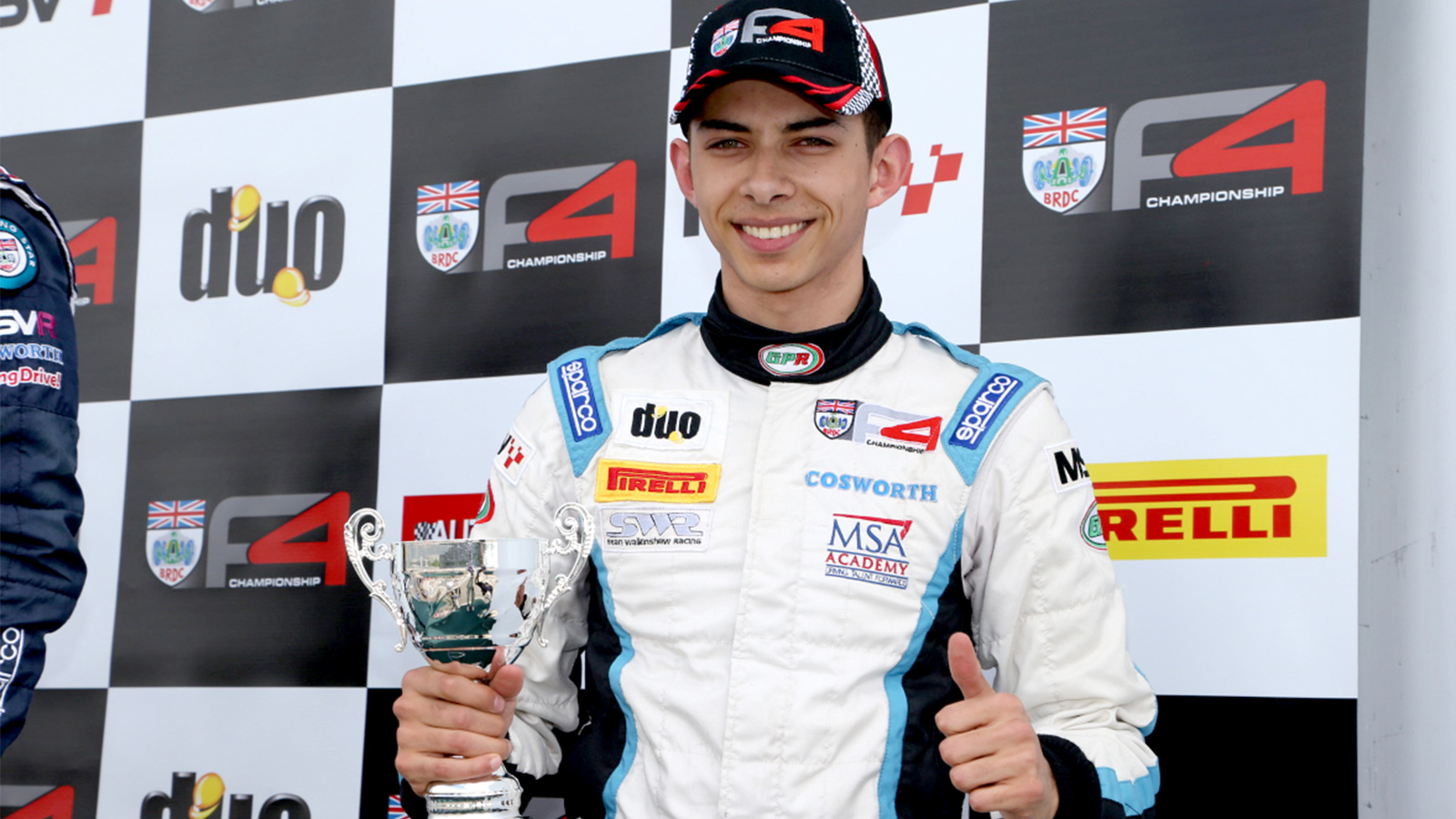 Jordan Albert's third podium of 2015.