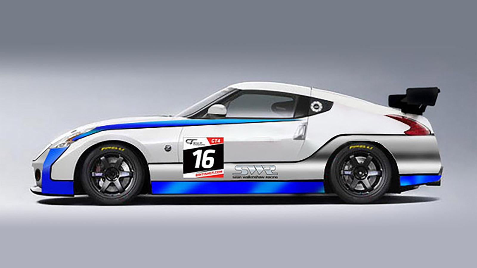 SWR Nissan 370Z.