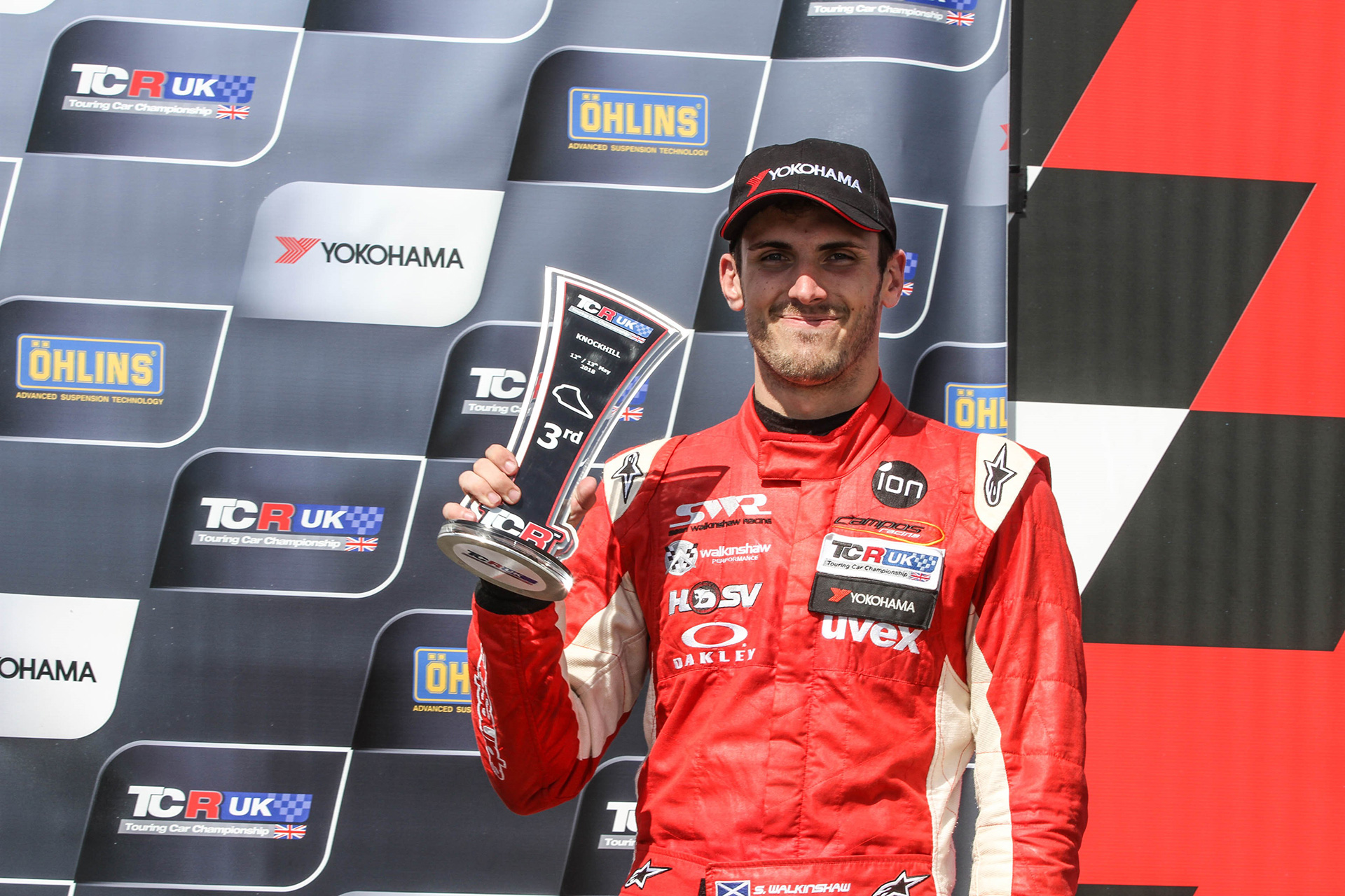 First podium of inaugural TCR UK Championship season for SWR.