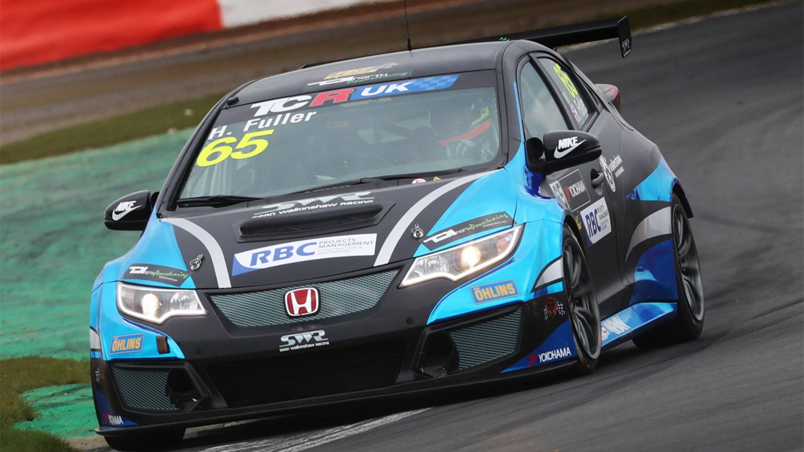 Howard Fuller happy with racing return at wheel of Honda Civic