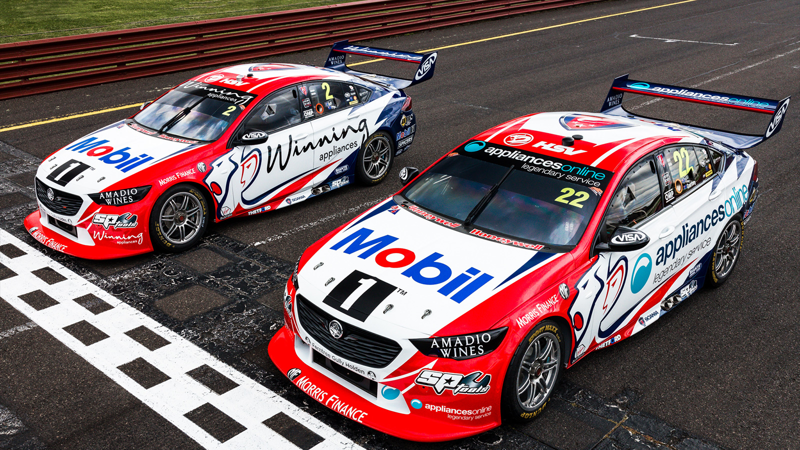 1999 Mobil 1™ Holden Racing Team livery replicated for Retro Round