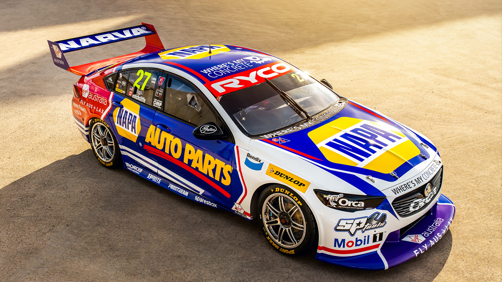 NAPA Auto Parts Racing Livery Revealed