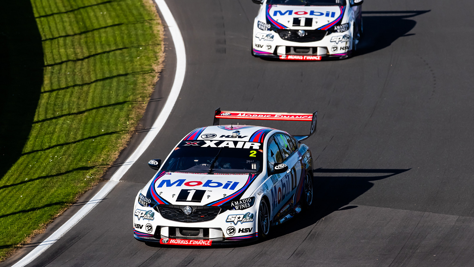 Both Car 2 and 22 were on track at Winton.