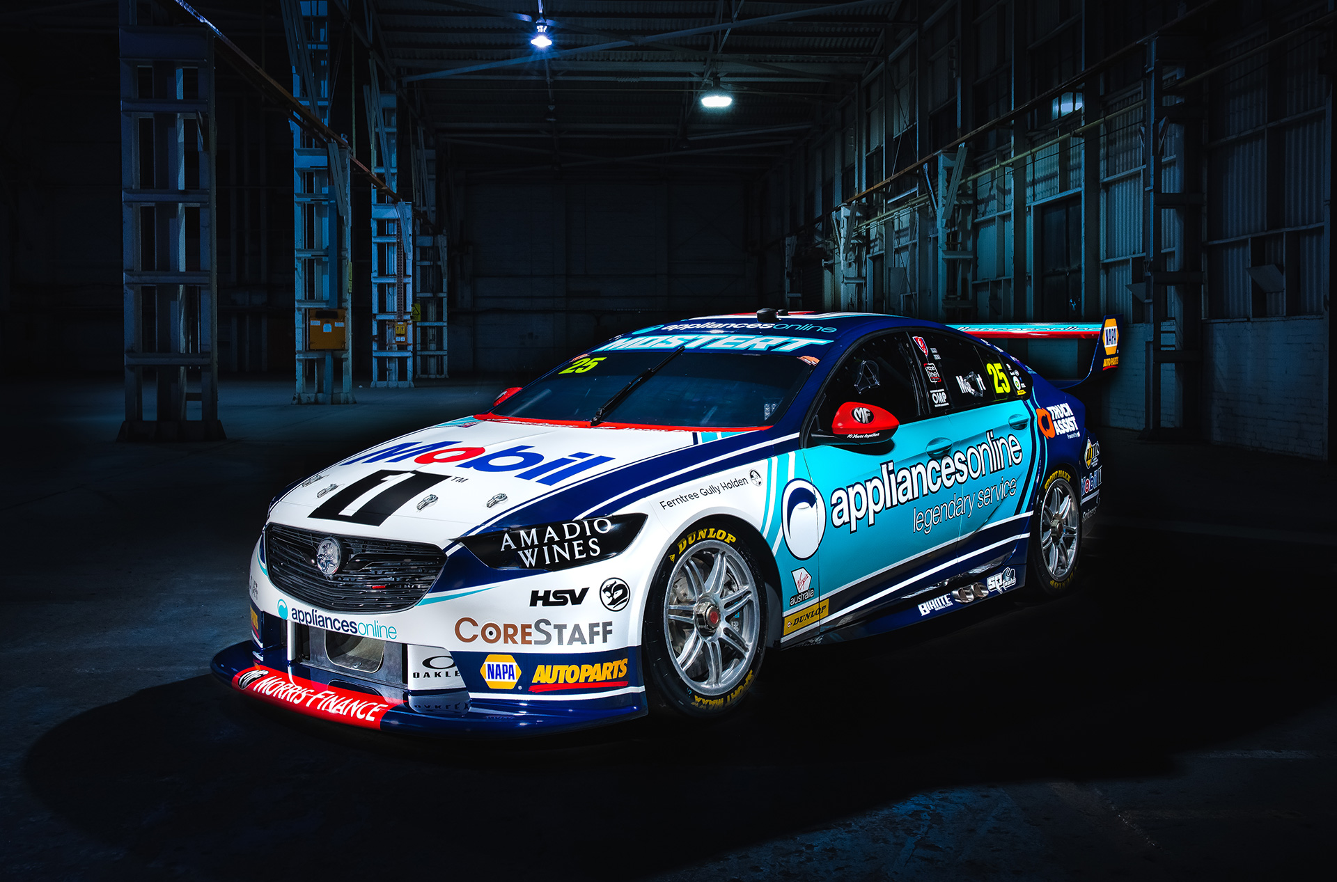Chaz Mostert's No. 25 livery revealed.