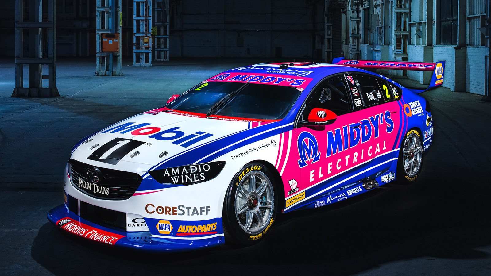 Mobil 1™ Middy's Racing Car No. 2 livery.
