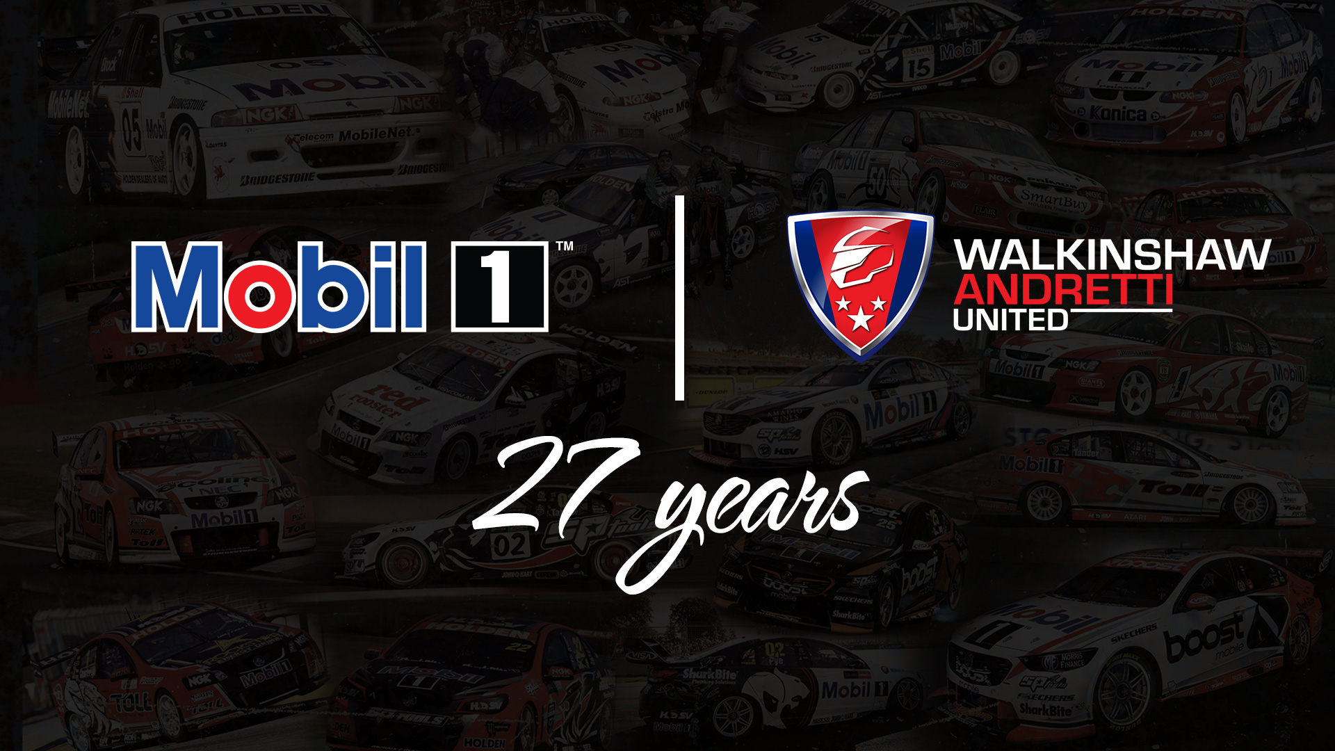 Mobil 1 to be Co-Naming Rights Partner on both WAU entries for 2020 and beyond.