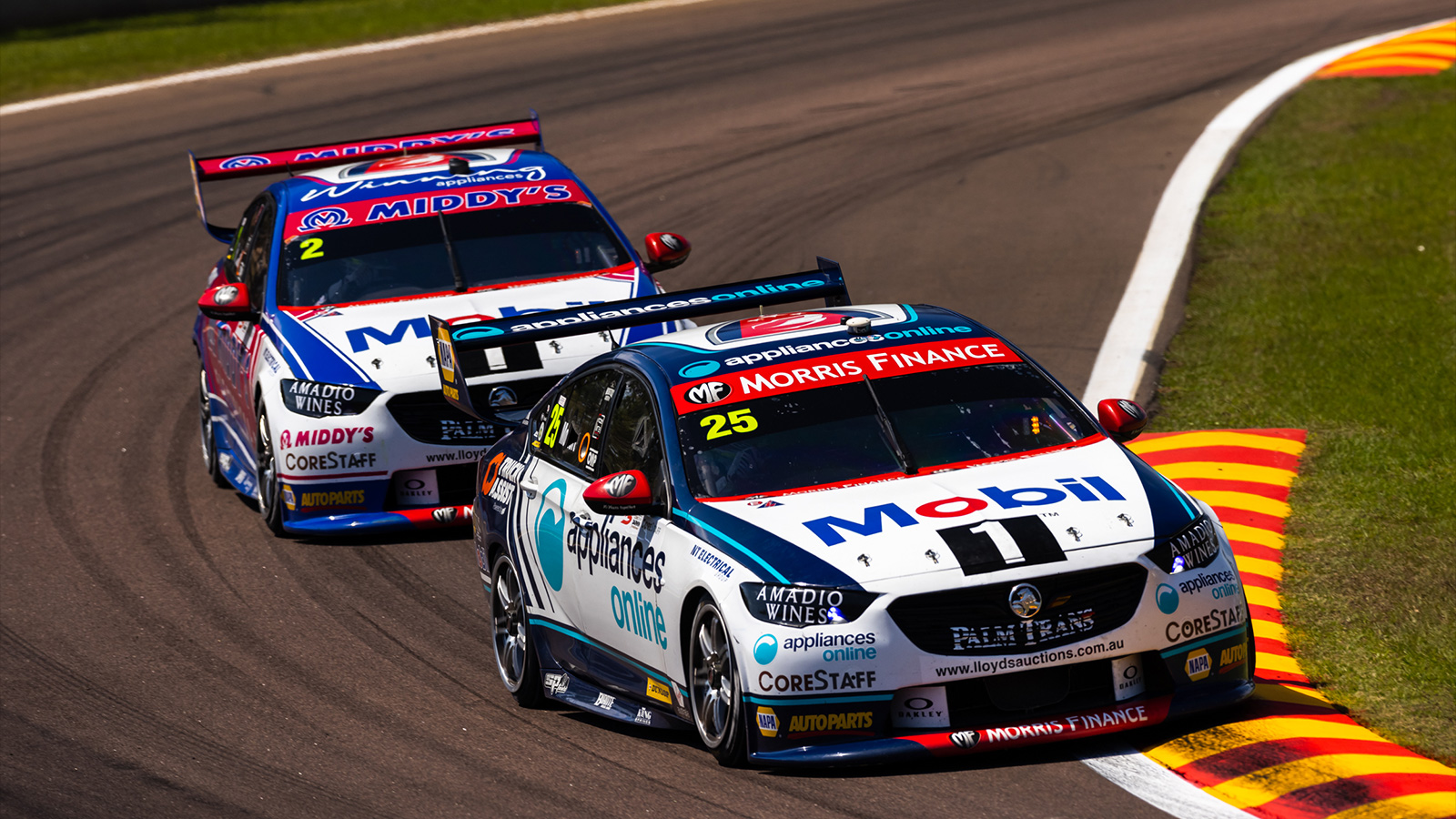 Both cars will be back on track next weekend in Townsville.