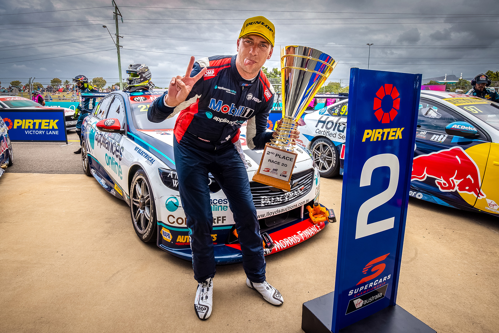 Mostert made it two podiums across the weekend.