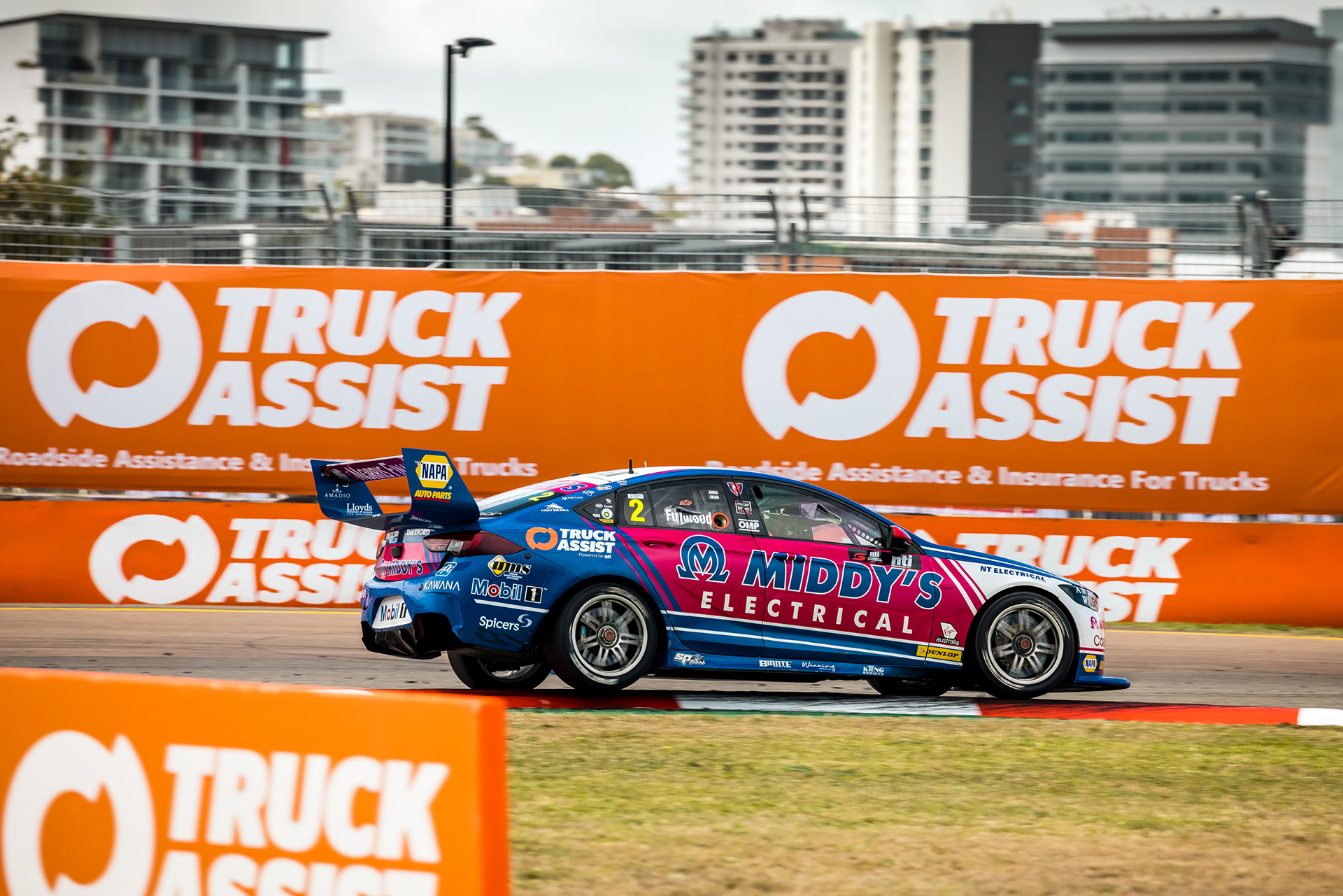 We have three more races in Townsville this weekend.