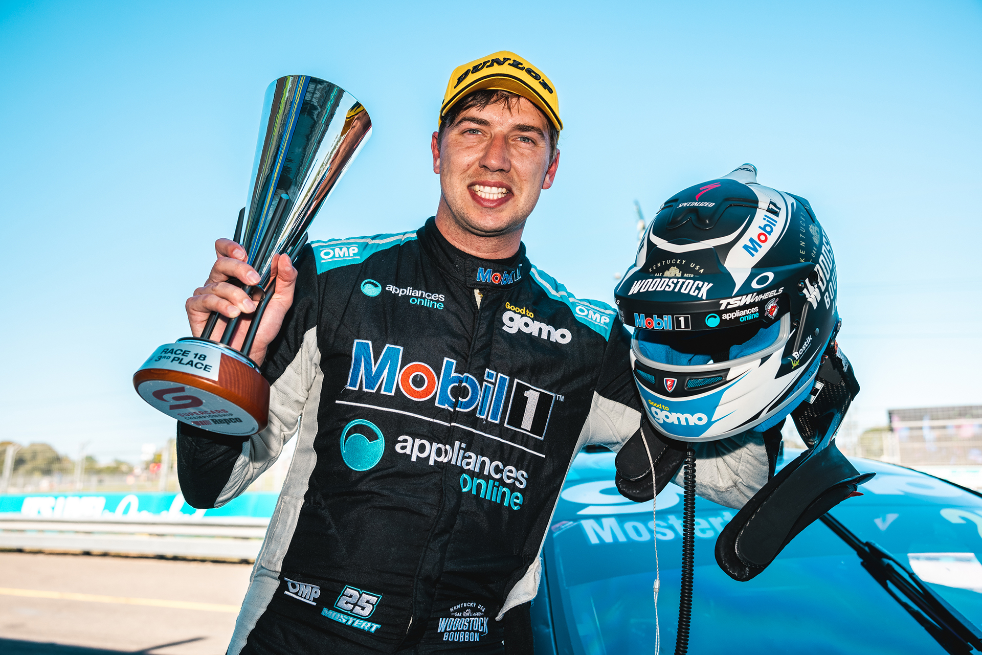 Mostert claimed two podiums over the weekend.